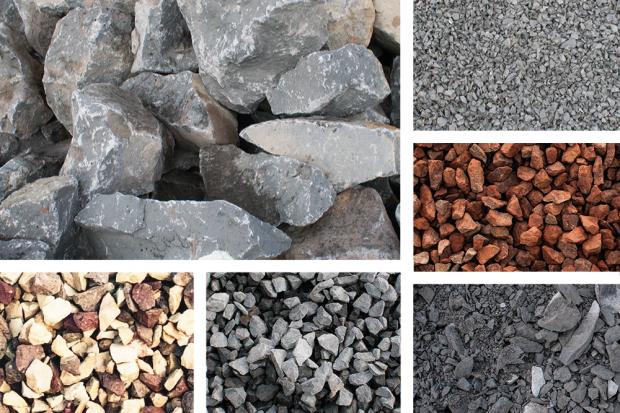 Basalt | Lava | Mineralgemisch | Schotter | Split | Wasserbausteine